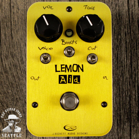 J. Rockett Lemon Aid Boost/Preamp Pedal