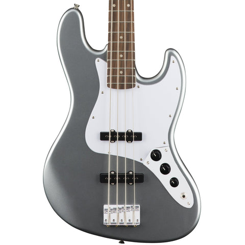 Squier Affinity Series Jazz Bass Guitar Slick Silver