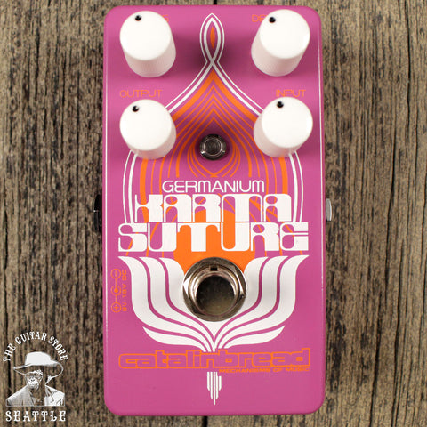Catalinbread Karma Suture Germanium Fuzz/Distortion Pedal