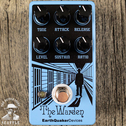 Earthquaker Devices Warden Compressor Pedal