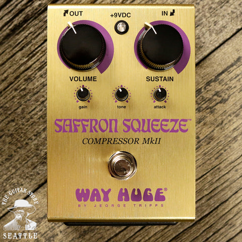 Way Huge WHE103 Saffron Squeeze Compressor Pedal