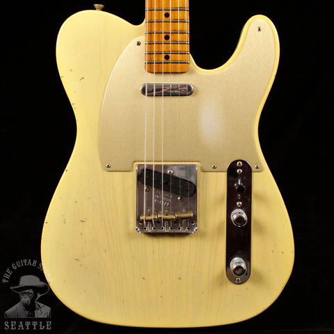 Fender Custom Shop Limited Red Hot '52 Telecaster Journeyman Faded Nocaster Blonde 16877