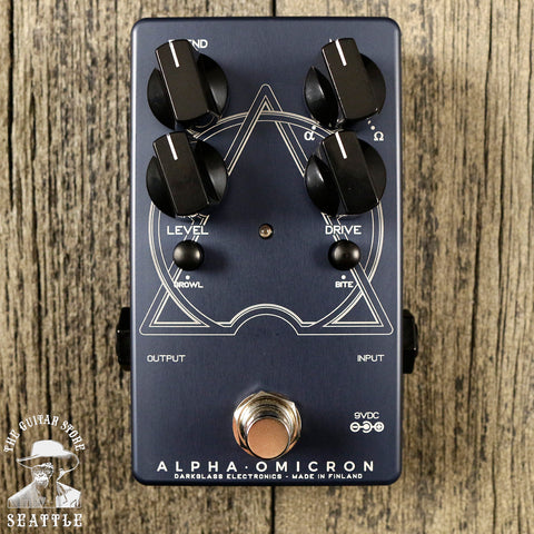 Darkglass Alpha Omicron Distortion Pedal