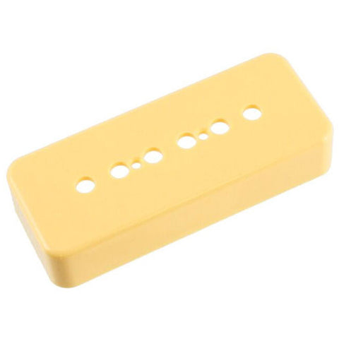 Allparts 50mm Cream Soapbar Pickup Covers