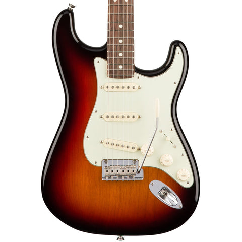 Fender American Pro Stratocaster Rosewood Fingerboard Three Tone Sunburst Guitar
