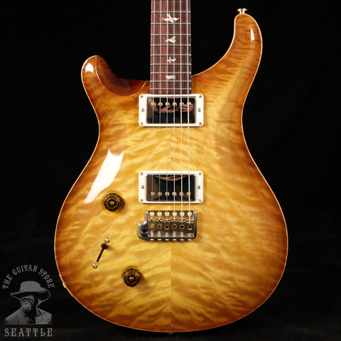 Paul Reed Smith Left-Handed Custom 22 Wood Library 10 Top Quilted Livingston Lemondrop 243022