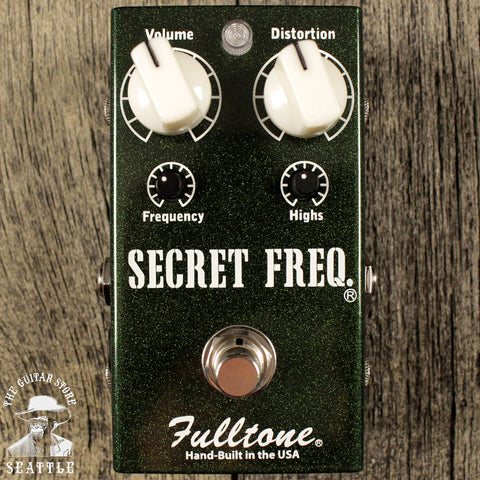 Fulltone Secret Freq Boost Overdrive Pedal