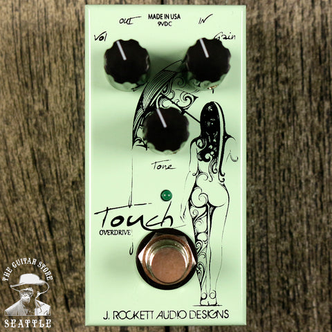 J.Rockett Jet Series Touch Overdrive Pedal