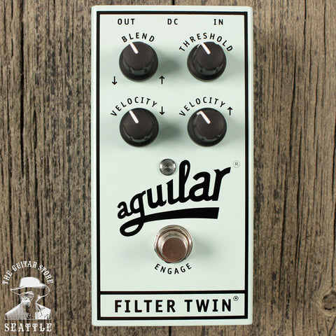 Aguilar Filter Twin Dual Bass Envelope Filter Pedal