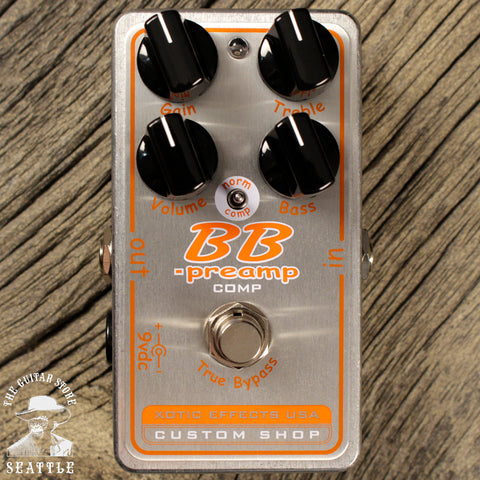 Xotic BBP Comp Preamp Compressor Pedal