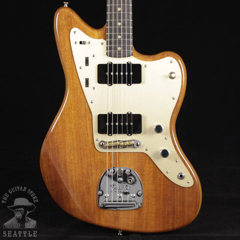 Fender Custom Shop Artisan Blackwood Jazzmaster Natural Electric Guitar