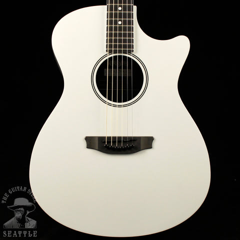 RainSong RS1-LE Pearl White Acoustic-Electric Guitar