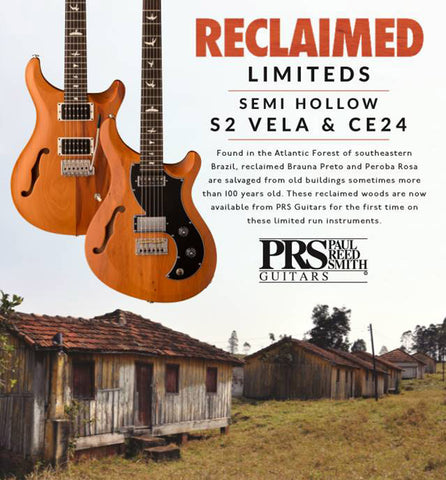 Paul Reed Smith S2 Vela Semi-Hollow Reclaimed Limited