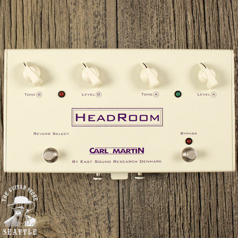 Carl Martin Headroom Reverb Pedal