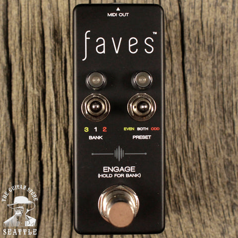Chase Bliss Faves Midi Controller Pedal