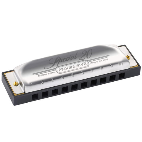 Hohner Progressive Series Special 20 Harmonica Key of A