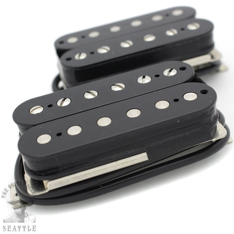 Wolfetone Marshallhead Humbucker Black Set Guitar Pickups