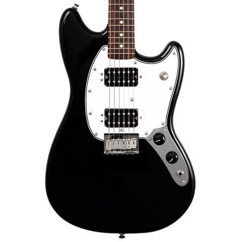 Squier Bullet Mustang HH Black Electric Guitar