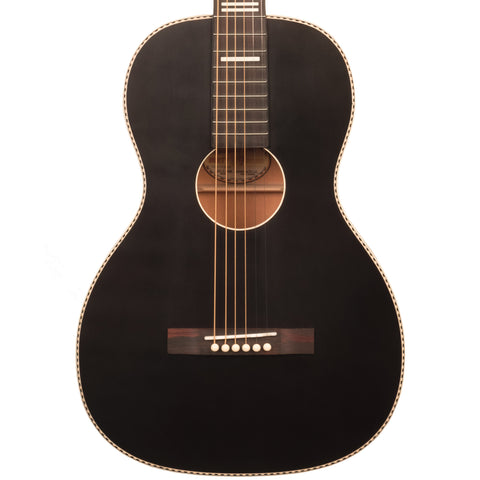 Recording King RPS-7 Dirty 30s Series 7 Single 0 Whitewood Spruce Acoustic Guitar Satin Black