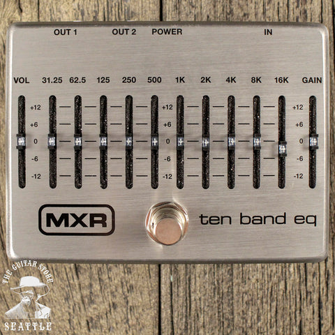 MXR M108S Ten Band EQ Equalizer Pedal