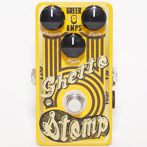Greer Ghetto Stomp Limited Edition BC107B Overdrive Pedal