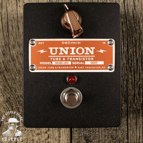 Union Tube & Transistor More Limited Clean Boost Pedal