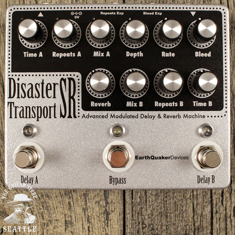 Earthquaker Devices Disaster Transport Sr. Delay Pedal