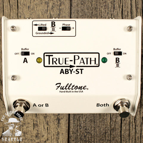 Fulltone True-Path ABY Soft Touch Pedal