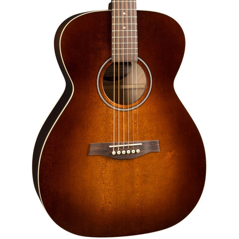 Seagull S6 Original Slim Concert Hall Acoustic-Electric Burnt Umber GT with Gig Bag