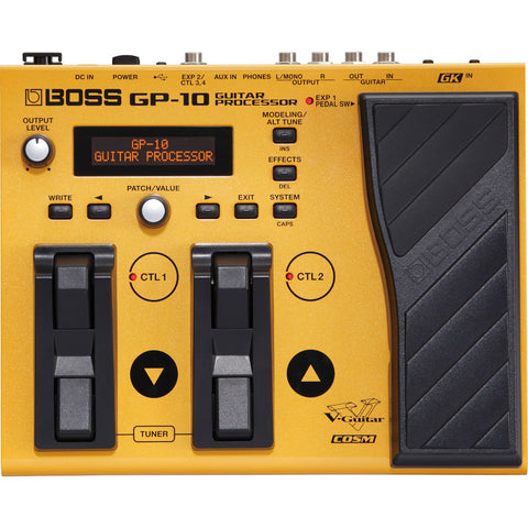 Boss GP‑10 Guitar Processor Multi‑Effect Unit