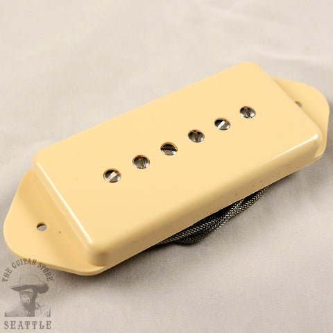 Wolfetone Mean P-90  Dog Ear Cream Guitar Pickup
