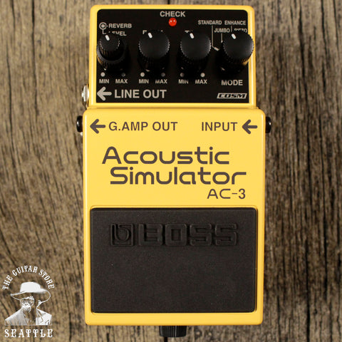 Boss AC-3 Acoustic Simulator 10% OFF OPEN BOX