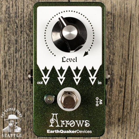 Earthquaker Devices Arrows Boost Pedal