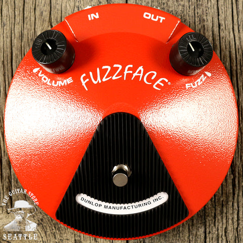 Dunlop JDF2 Fuzz Face Distortion Pedal