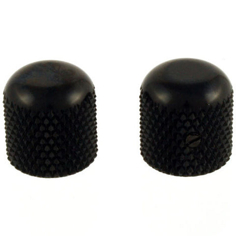Allparts Black Dome Knobs