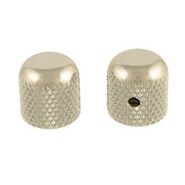 Allparts Nickel Dome Knobs