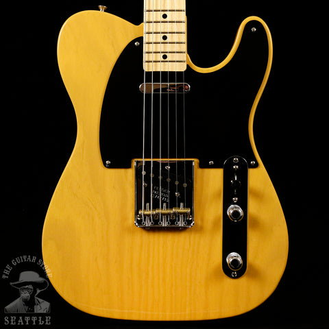 Fender American Original '50s Telecaster Maple Fingerboard Butterscotch Blonde Guitar 0110132850