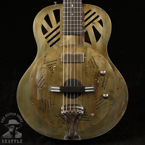 Vilhelm Engström Guitars 16 Fret Resonator Long-Scale Electric Guitar