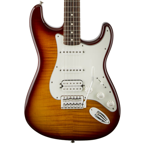 Fender Standard Stratocaster HSS Plus Top Guitar Tobacco Sunburst 0144713552