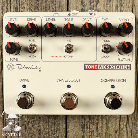 Keeley Tone Workstation Compressor and Drive Pedal