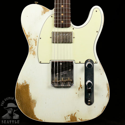 Fender Custom Shop 60s Super Faded Heavy Relic Telecaster Custom Aged Sonic Blue