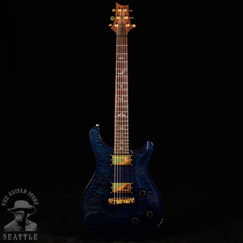 Used 2006 Paul Reed Smith Custom 22 Artist Quilted Maple Brazilian Rosewood Fretboard Royal Blue