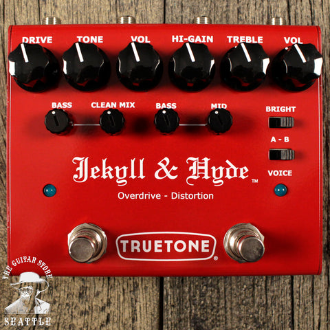 Truetone Visual Sound Jekyll & Hyde Overdrive Distortion Pedal