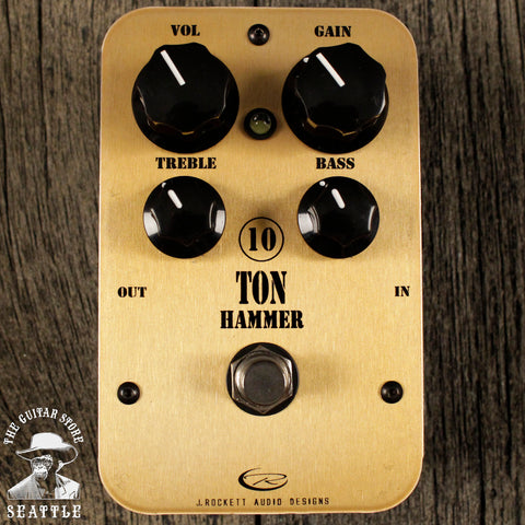 J. Rockett 10 Ton Hammer Distortion Pedal