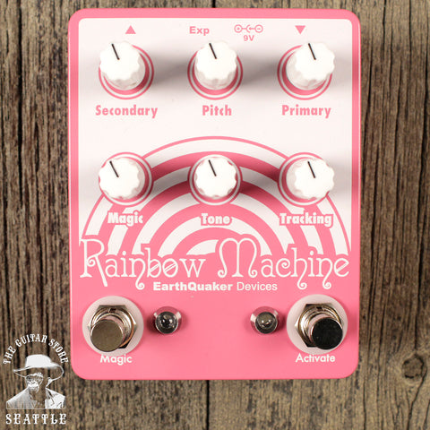 Earthquaker Devices Rainbow Machine V2 Polyphonic Pitch-shifting Modulator Pedal