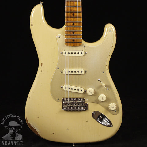 Fender Custom Shop '56 Stratocaster Fat Roasted Relic Aged Desert Sand