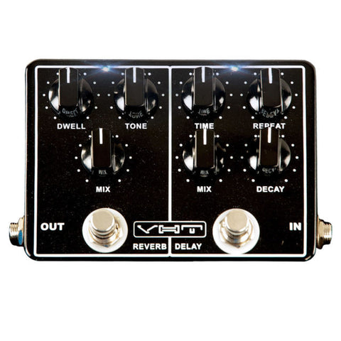 VHT Echo-Verb Delay Reverb Pedal