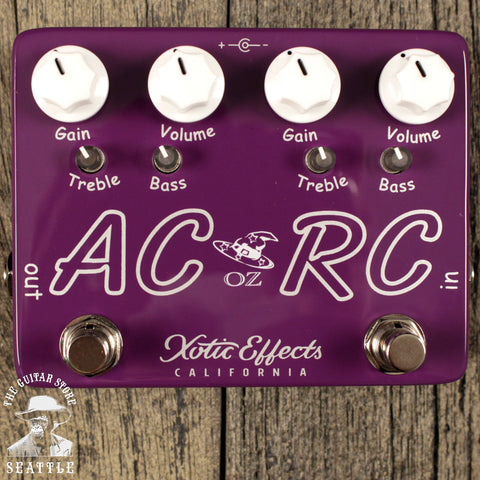Xotic Effects AC/RC-OZ Limited Edition Boost Overdrive Pedal