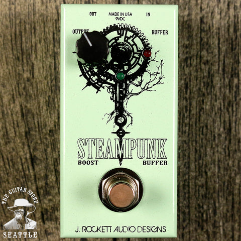 J.Rockett Jet Series Steampunk Boost & Buffer Pedal