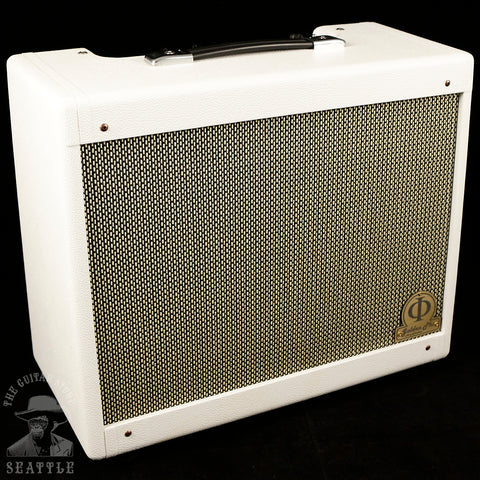 "Golden Phi White Gold 1x12"" Guitar Combo Amplifier"